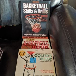Other - VINTAGE Basketball and Golf Books
